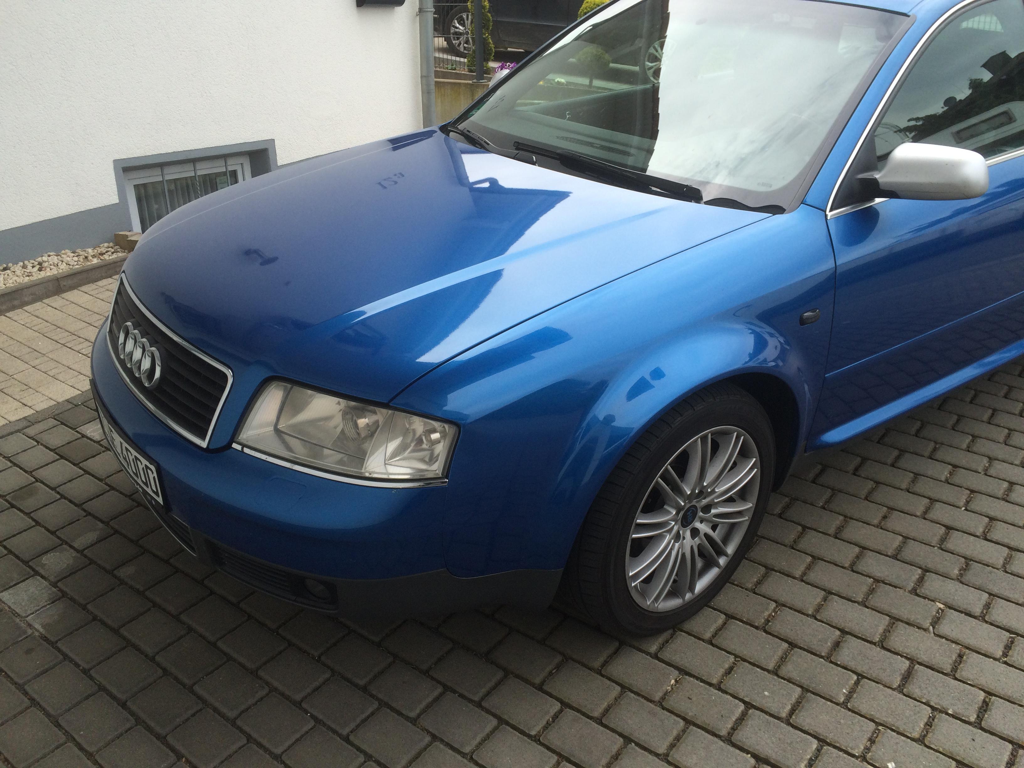 Fahrzeugbeispiel Chiptuning Audi A4 (2)